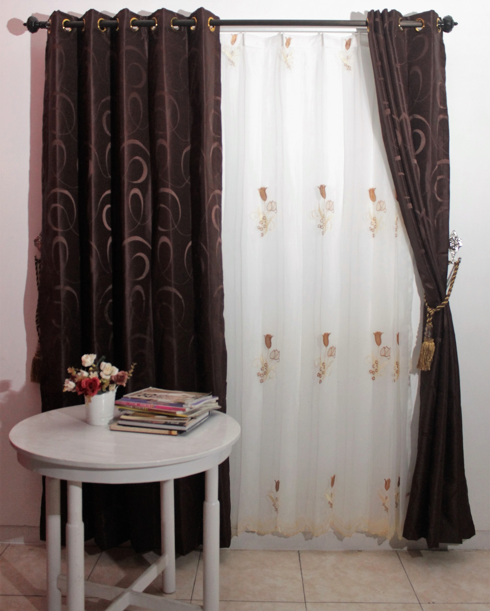 Gorden Smokring London Coklat Tua 200 X 140 Cm